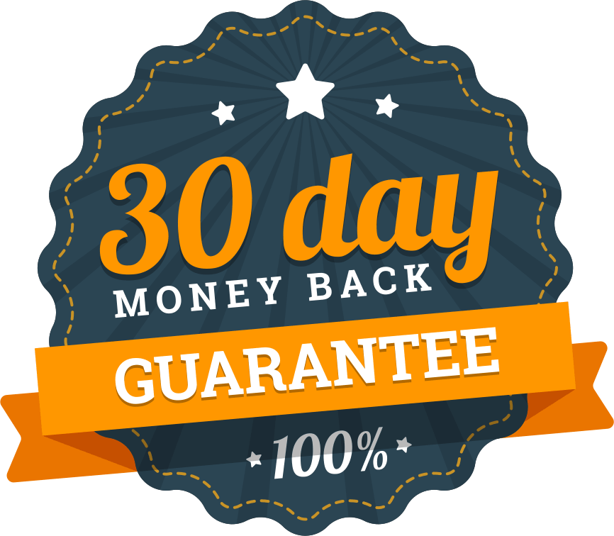 30 Day Moneyback Guarantee